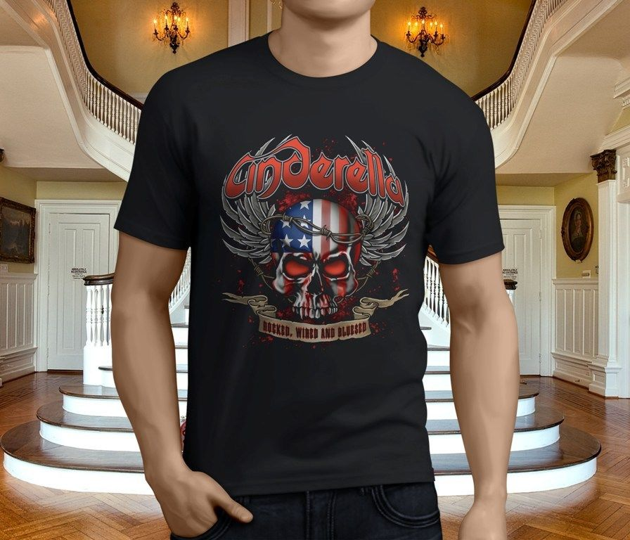 0d7ea876f Cinderella Rock Band NIGHT SONGS Licensed Adult Long Sleeve T-Shirt S-3XL  Shirts