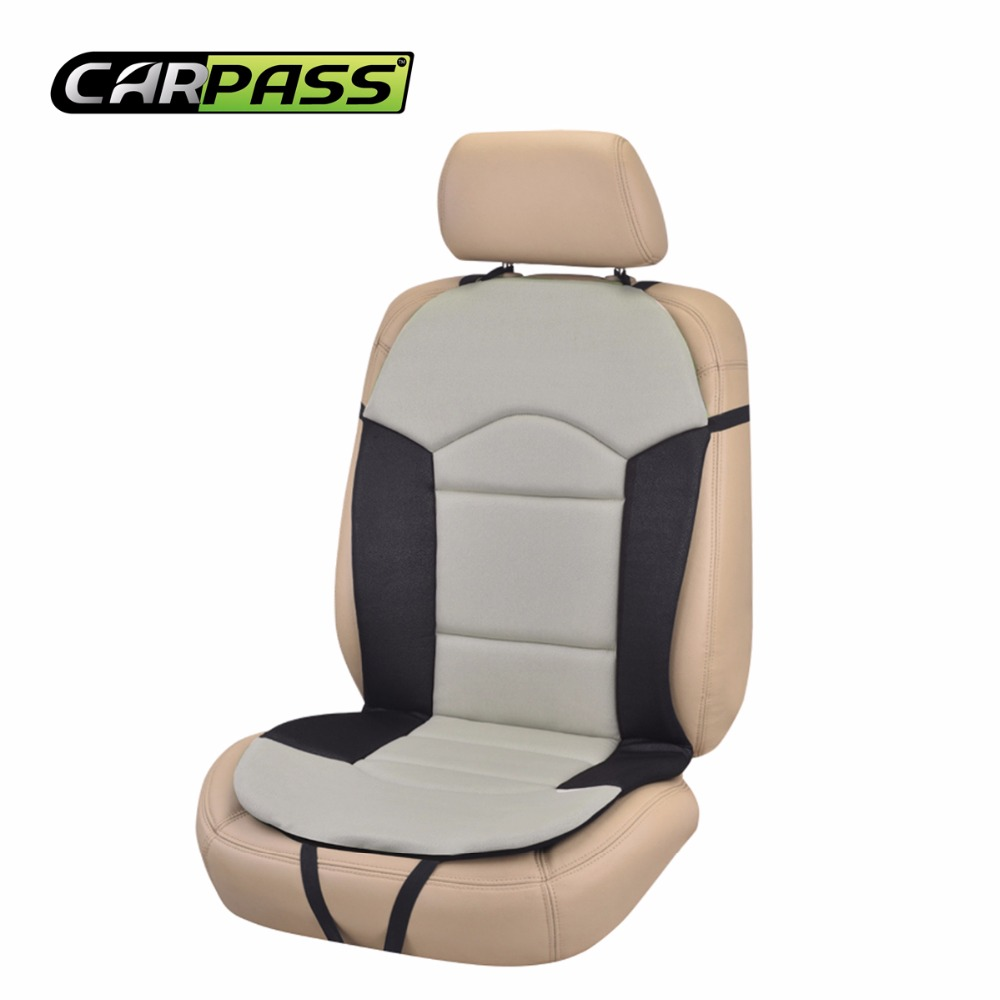 Car pass Car Seat Cushion Black 1 Pc Fit Most Cars font b Interior b font