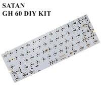 S SKYEE DZ60 60% Layout PCB Type C Interface Custom Mechanical Keyboard  Board Support Customization