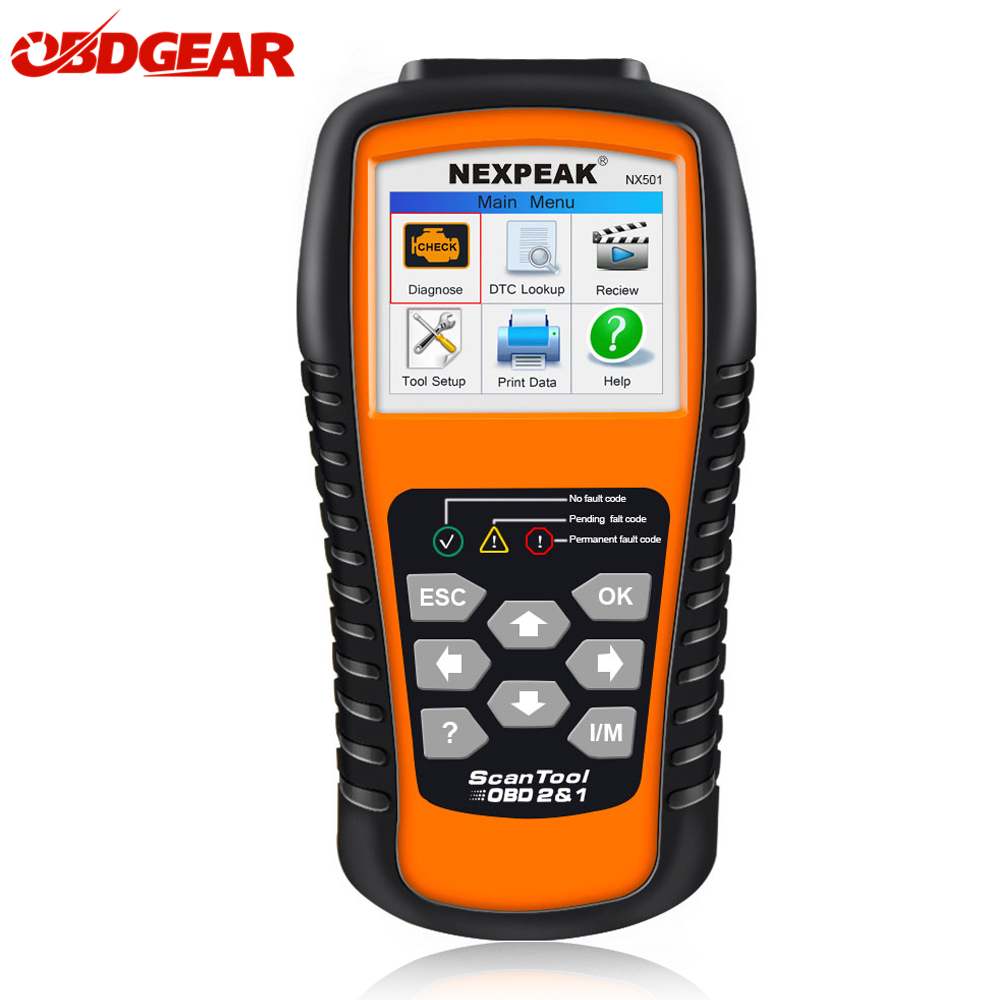 2018 Best OBD2 Auto Scanner NX501 ODB 2 Auto Diagnostic Car Scanner In Russian Multilingual Engine Code Reader Diagnostic Tool auto scanner code reader diagnostic tool for mercedes benz s