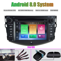 Octa Core Android 8 0 CAR DVD Player For TOYOTA RAV4 2008 2012