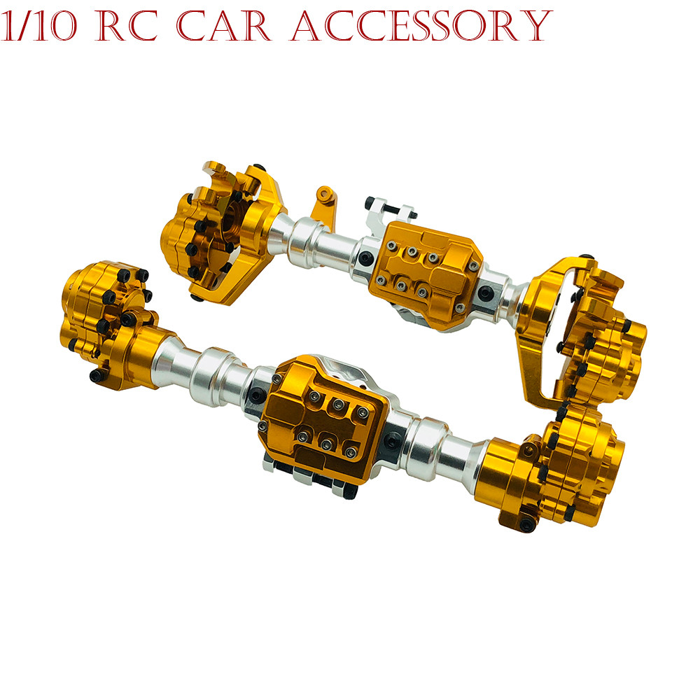 110 RC Car Accessory Aluminum Front Rear Axle Housing for Traxxas TRX-4 Crawler Aluminum Front Rear Axle Housing RC Car Parts