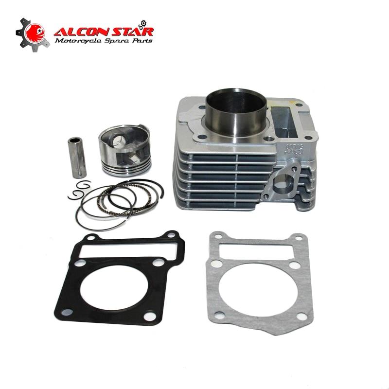 Alconstar Motorcycle Cylinder Kit 57mm 150CC For Yamaha YBR125 YBR 125 XTZ125 YB125Z YBR XTZ 125