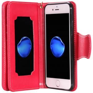 Image 5 - Raccoglitore di Cuoio di lusso di Vibrazione della Cassa Del Telefono per iphone 6 s 6 s 7 8 Più di 6Plus 7 Più 8 più di X XS 5 5s SE 2020 Copertura Specchio Per Il Trucco Involucro