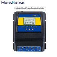 Duplo Poder Chave De Transferência automática ATS Controlador de Carga Solar para o Sistema de vento Solar DC 48 24 12 v v v AC 110 v 220 v on/off grade