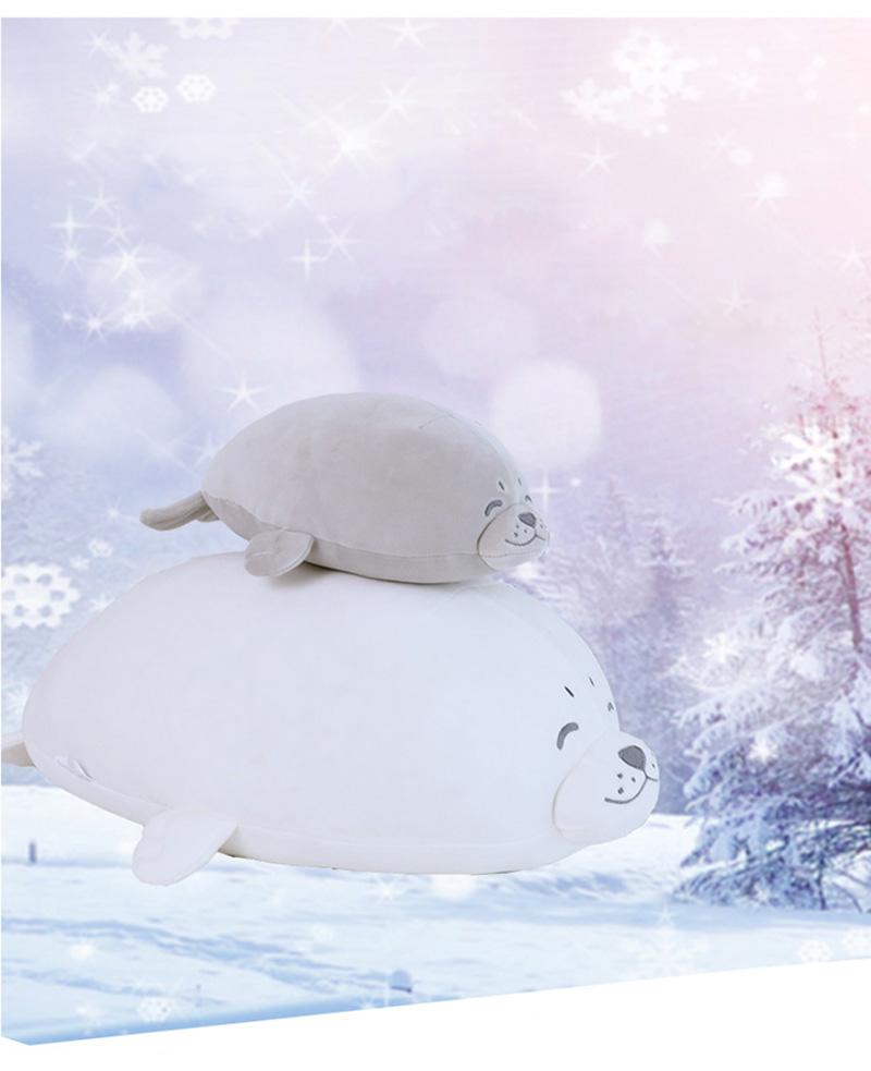 1pcs Cute Soft Animal Sea Lion Doll Baby Sleeping Pillow Marine Animals Seal Plush Toy Kids Stuffed Toys Gift (1)