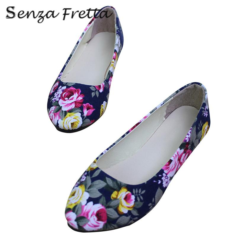 2017 Multi-Color Shoes Woman New Spring Summer Ballet Ladies Rose Casual Shoes Women Flat Canvas Pointed Toe Shoes LDD0006 drfargo spring summer ladies shoes ballet flats women flat shoes woman ballerinas pointed toe sapato womens waved edge loafer