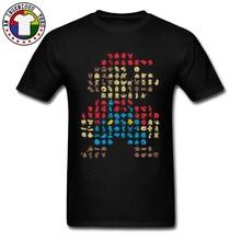 Super Mario Bros Party 64 clásico camiseta juego Endgame Vintage videojuego nuevas camisetas Retro TV Playstation divertida camisa chico