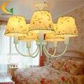 Korean restaurant bedroom living room chandelier led chandelier children girl bedroom ceiling light E27