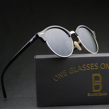 0cdf692469f2d Vintage Retro Rodada Óculos De Sol Das Mulheres dos homens Polarizados 2018  Óculos de Sol de Luxo de Design Da Marca Feminina Ga.
