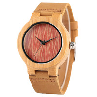Fashion Light Creative Red Design Women S Quartz Watch With Genuine Leather Watch Strap Top New