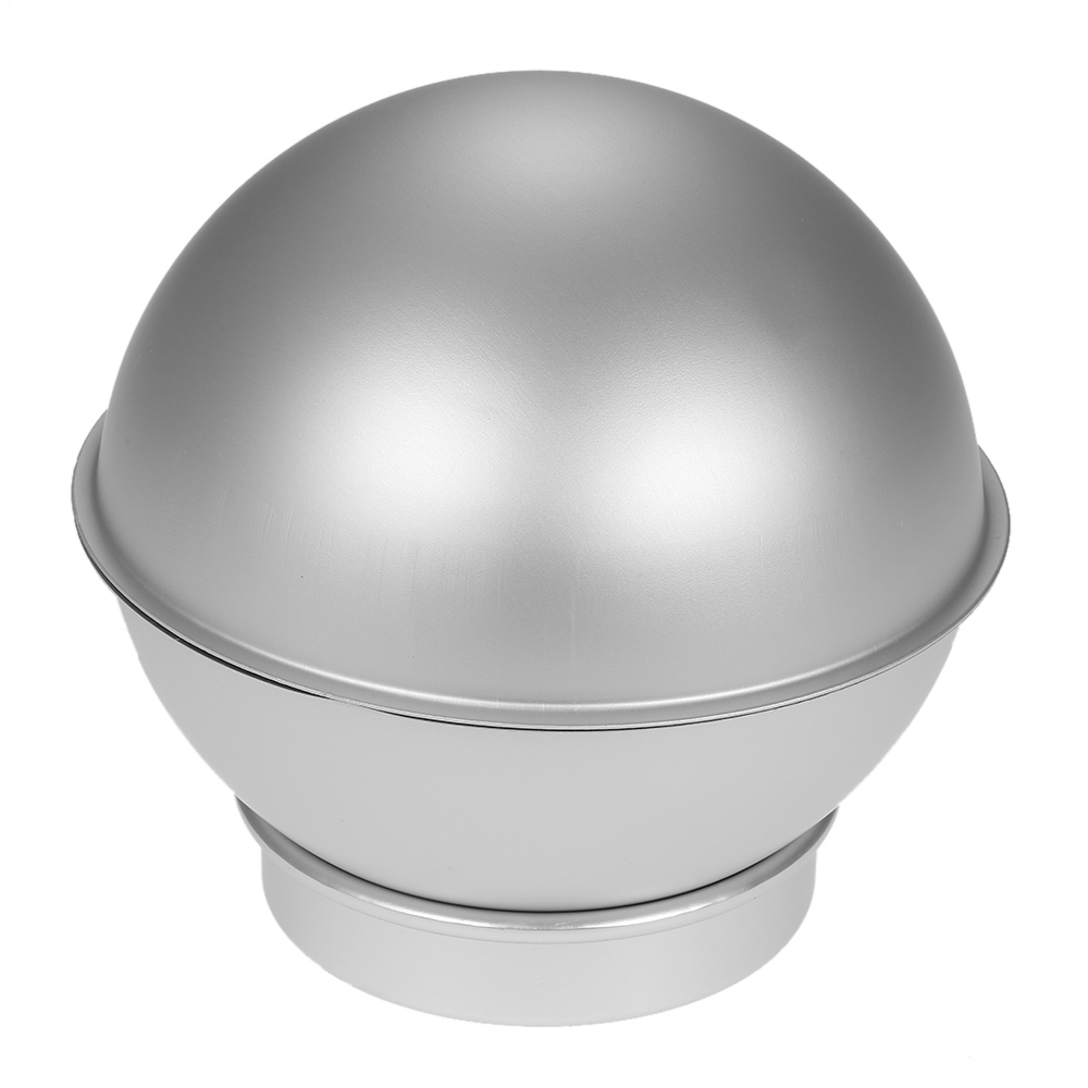 2015 3D Aluminum Ball Sphere Shaped Cake Pans Cupcake Cake Tin