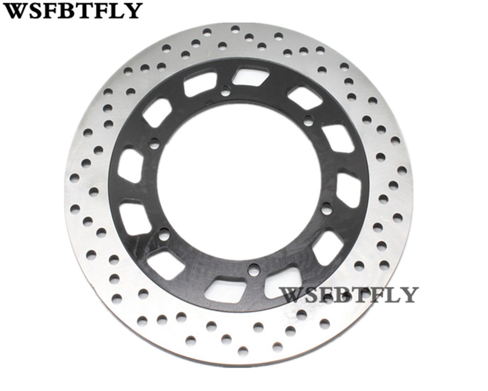 Motorcycle Rear Brake Disc Rotor For YAMAHA GTS 1000 FJ1100 FJ1200 FJR1300 XVS1100 XV1700 V-Max 1200 Rear keoghs real adelin 260mm floating brake disc high quality for yamaha scooter cygnus modify