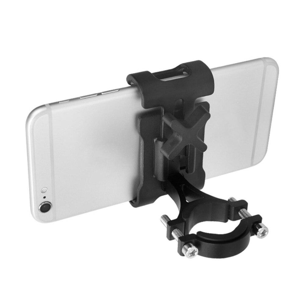 TSAI Bicycle Bike Mobile Phone Holder Fixed Bracket Motorcycle Handlebar Mount Aluminum Alloy Holder Hanger