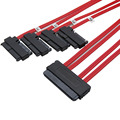 1M Internal SAS 32Pin SFF-8484 to 29Pin SAS SFF-8482 Data Cable +15pin sata