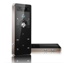 Lossless Bluetooth 4.0 Pantalla Táctil Reproductor de MP3 Reproductor de Música con Radio FM Grabador eBook Podómetro 100 horas de juego Envío gratis