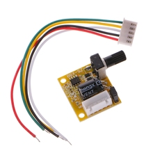 DC 5V-12V 2A 15W Brushless Motor Speed Controller No Hall BLDC Driver Board Dls HOmeful 380w 3 phases brushless motor controller board no without hall sensor bldc pwm plc driver board dc 6 50v