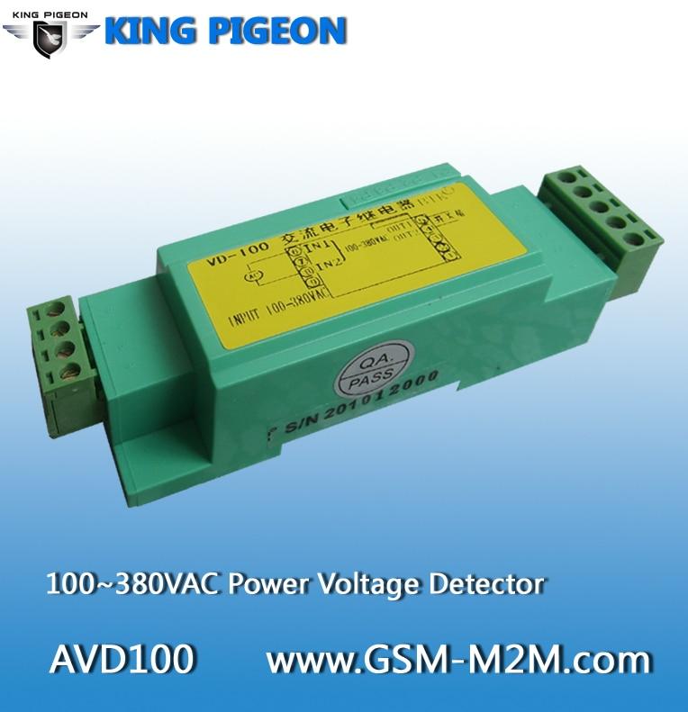 100 vac power - AC Power Voltage Detector Monitoring 100~380VAC Power Voltage Status Base Transceiver Station digital detector AVD100