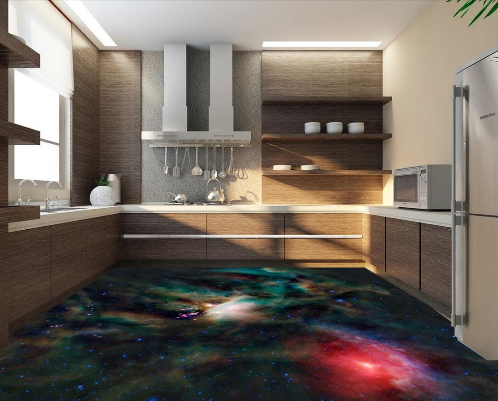 piso d print europa palo d piso negro estrella impermeable rollo de