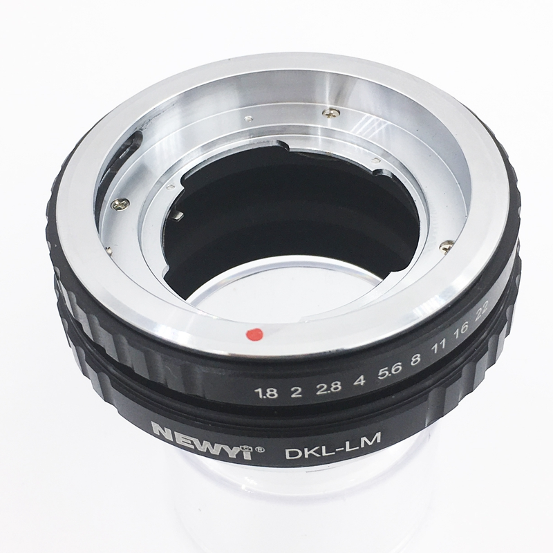 Image 2 - NEWYI Lens Adapter For Dkl Lm Voigtlander Retina Deckel Lens To L eicam With Techart Lm Ea7 Camera Lens Ring Accessories-in Lens Adapter from Consumer Electronics
