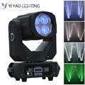 4x25 watt LED 130 watt Super Strahl Moving Head Lichter Spot Zoom DMX 9/15CH für Disco bühne Hochzeit Party Dekorationen