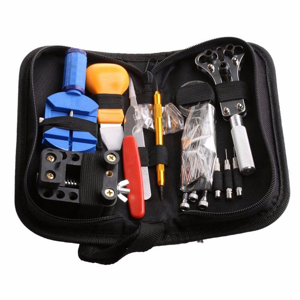 144 stücke Uhrmacher Tools Kit Uhr Opener Watchmaking Werkzeuge Presto Plunger Puller Frühling Bar horloge gereedschap Reparatur-werkzeuge