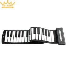 MD49 Flexible Mini 49 Llaves Rueda Para Arriba El Piano Electrónico Del Teclado MIDI para Niños