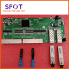 POE Reverse Switch Board Kit Contain 2pcs SC 3KM SFPs And 2pcs SC UPC Fast Connector