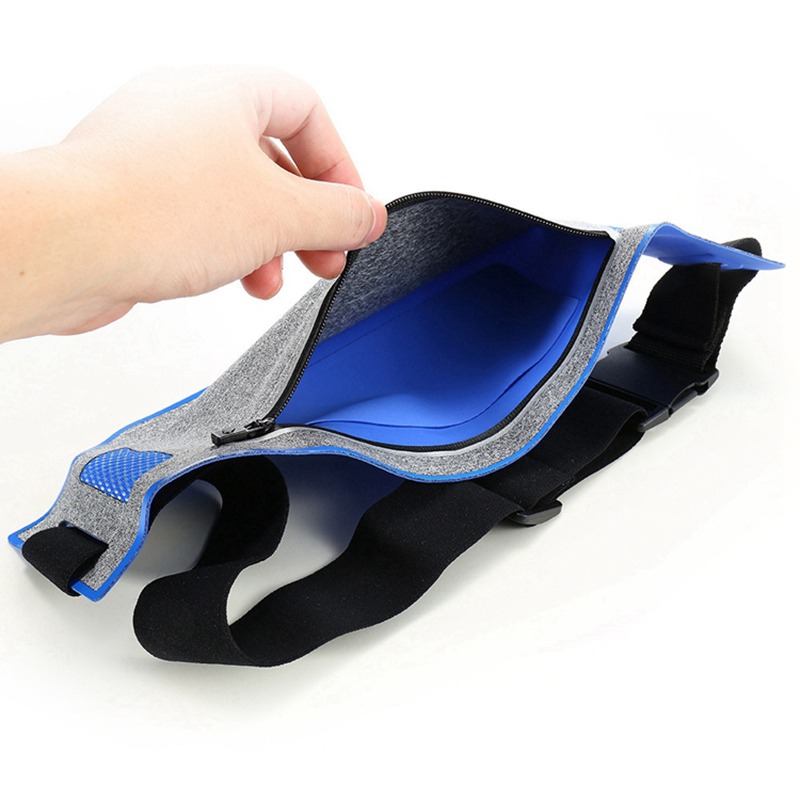 Professional Running Waist Pouch Belt Sport Belt Mobile Phone Men Women With Hidden Pouch Gym Bags Running Belt Waist Pack (15)