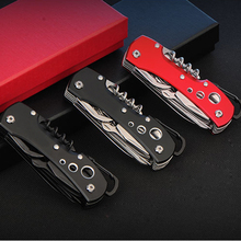 High Quality outdoor Swiss Knife Outdoor Camping Survival Army Folding Knife Multifunctional Tool Pocket Knife EDC new cool black multifunctional swiss knife multi purpose army folding pocket knife outdoor camping survival edc tool