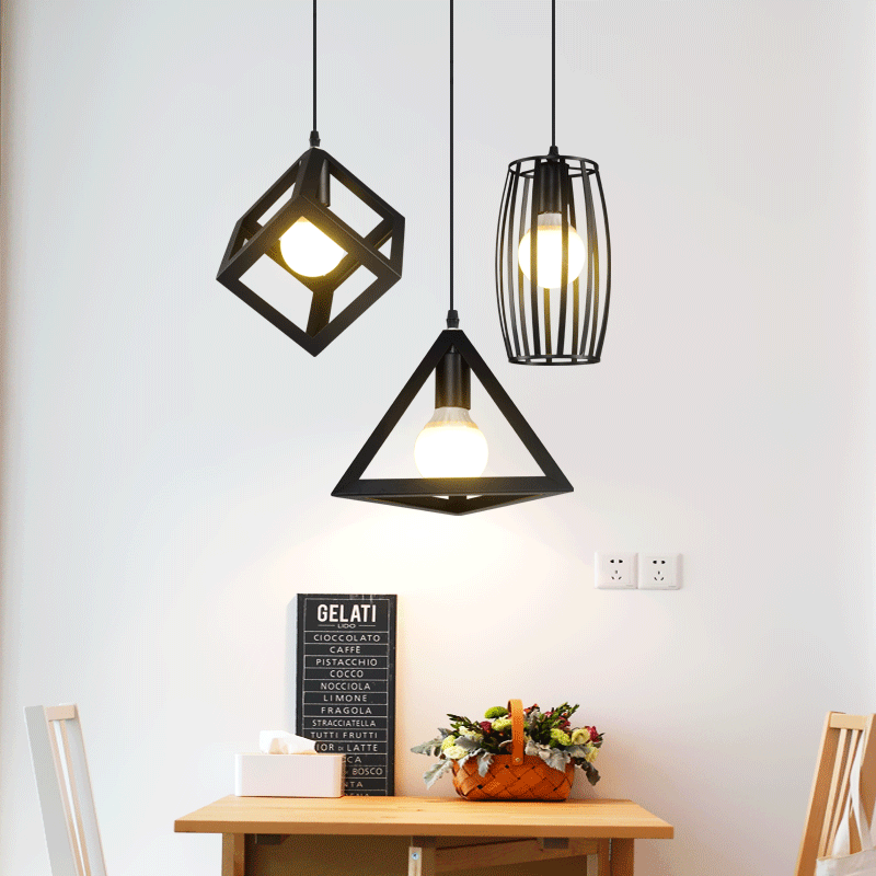 Moderne Anhänger Lichter Minimalist Restaurant Lampen North American  Industrial Anhänger Lampe Esszimmer Dekoration Lghting LED Lampe