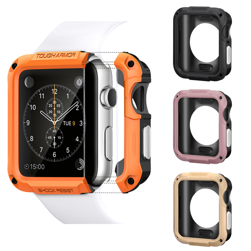 comprehensive Protector case cover for Apple Watch 5 4 44/40mm compatible iwatch series 3/2/1 42/38mm watches Anti-fall