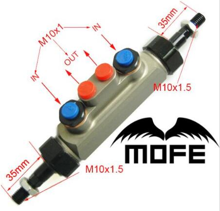 цена на MOFE Racing Piston Hydraulic Drift Handbrake Double Pump Tandem Master Cylinder For Civic EK3 B16 B16A B16B