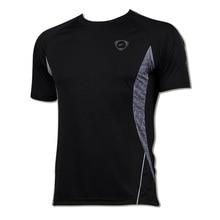 New Arrival 2016 men Designer T Shirt Casual Quick Dry Slim Fit running Sport shirts Tops & Tees Size S M L XL LSL011