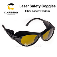 Cloudray 1064nm Laser Safety Goggles 850 1300nm OD4+ CE Protective Goggles For Fiber Laser Style A