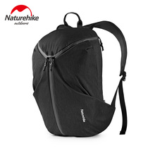 NatureHike 15L Travel Backpack Outdoor 15.6 inch Laptop Bag Ultralight School Bag Camping Hiking Backpacks Waterproof Travel Bag цена 2017