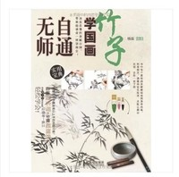 Chinese painting book learn to paint xieyi Bamboo Brush Painting Freehand Brushwork In traditional Chinese Painting 112pages