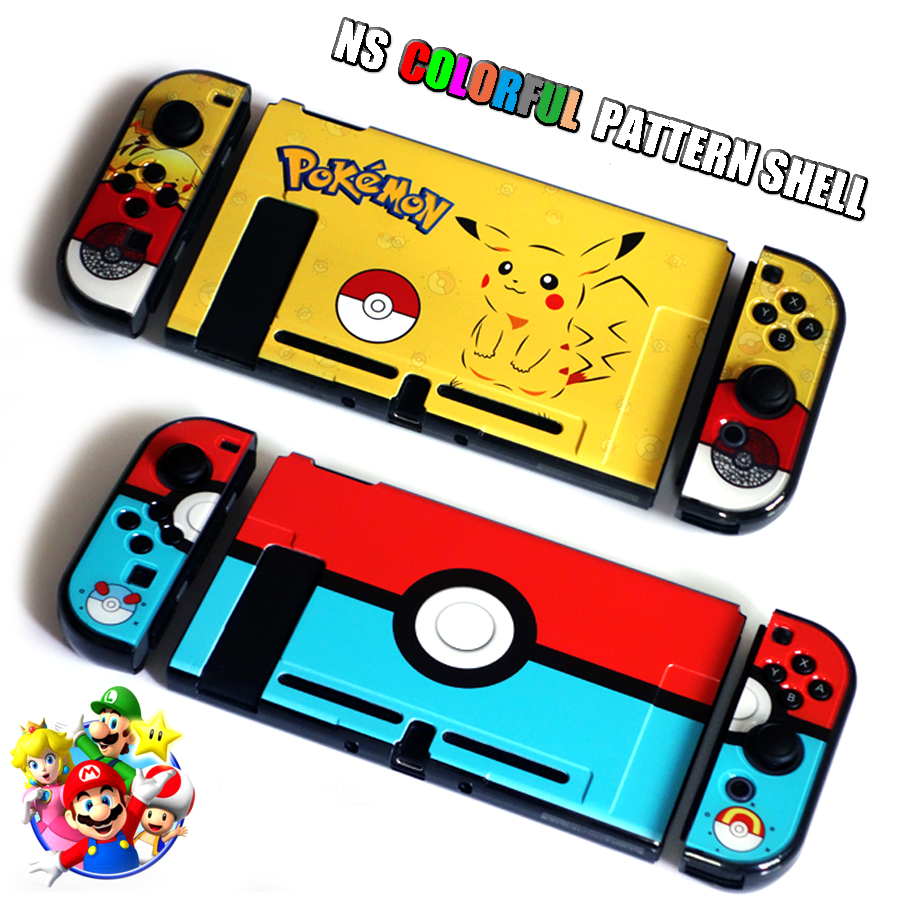Nintend Switch NS Pattern Case Nintendos Switch Protective Hard Cover Shell Skin for Nintendo Switch Console