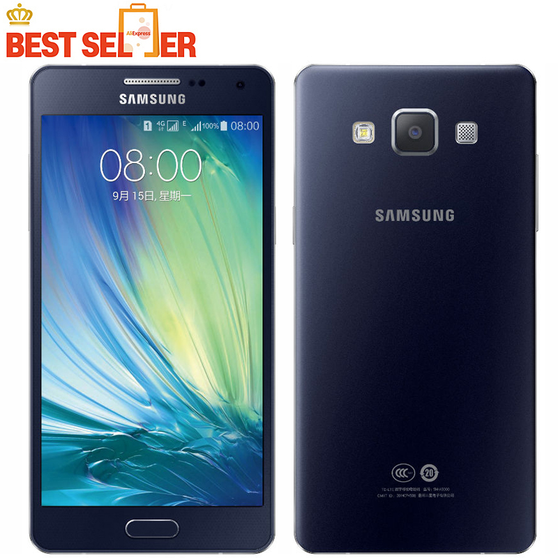 bilder für Ursprüngliches Entriegeltes Samsung Galaxy A3 A300F LTE handy 4,5 zoll Android Quad Core 1 GB RAM 16 GB ROM 8.0MP GPS WIFI Handys