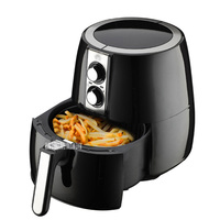 AF01 220V 2.4L Intelligent Electric Deep Fryer Oil Free Smokeless French Fries Machine Electric Air Fryer Non stick For Home Use