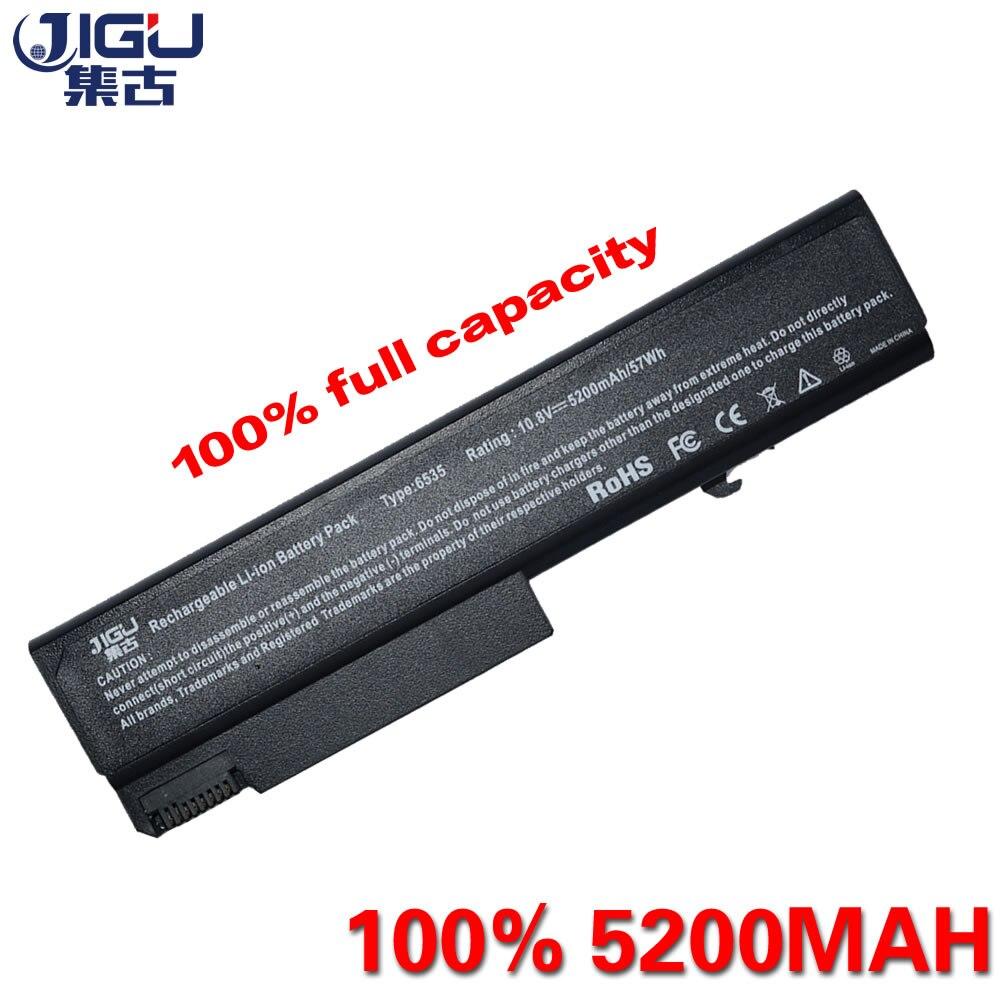Jigu 5200 мАч ноутбука Батарея для HP Compaq ProBook 6440b 6445b 6450 6450b 6530 6530B 6535 6535B 6540B 6545B 6550 6555 6730 6930