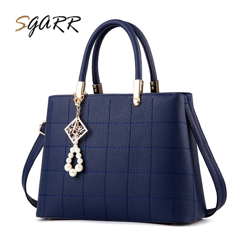 SGARR Famous Brand Women bag luxury handbags designer PU leather Female Tote Bags Zipper Shoulder Bags Cheap Top Quality On Sale luxury handbags women bags famous brand designer small bag genuine real leather shoulder bag female dollar price top handle bags