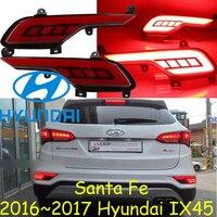 Santa Fe IX45 Breaking Light 2017 2018 Led Free Ship 2pcs IX45 Rear Light Santa Fe