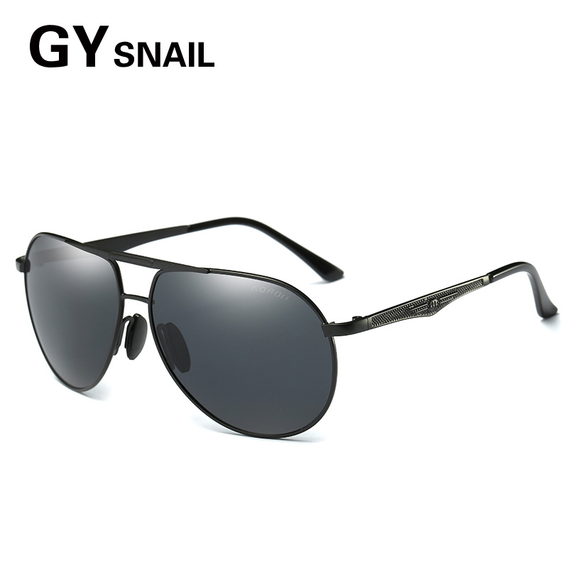 GYSNAIL Top quality Famous Brand font b Sunglasses b font aviator Men Polarized UV400 For Driving
