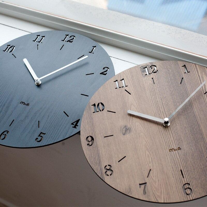 Direct manufacturers mandelda home simple modern style bedroom living room clock mute big clock