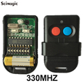 5pcs free shipping Malaysia 5326 Dip Switch Universal Garage Door Remote Control 330mhz or 433mhz