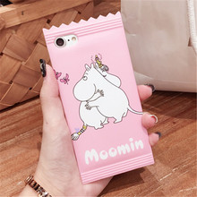 Candy Case with Moomins for iPhone