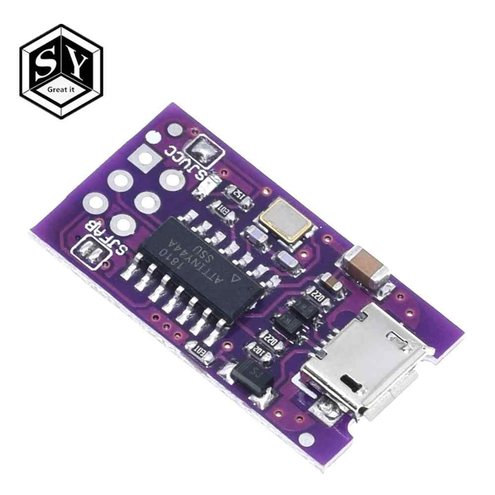 Микро-usb Tiny AVR ISP ATtiny44 ATTiny45 ATTiny85 USBTinyISP программатор, модуль IDE Bootloader ISP микроконтроллер 5 В