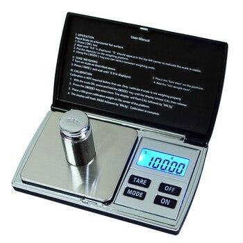Balanza electrónica Balanza De Joyería digital 500g/0,01 Mini recarga quilates diamante oro...