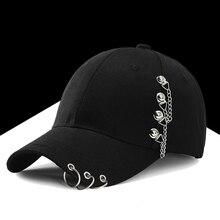 Snapback Men Baseball-Cap Ring Summer Fashion Women Adjustable Garros-Hat Chain Wings